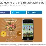 Maceto Huerto, una original aplicación para iPhone